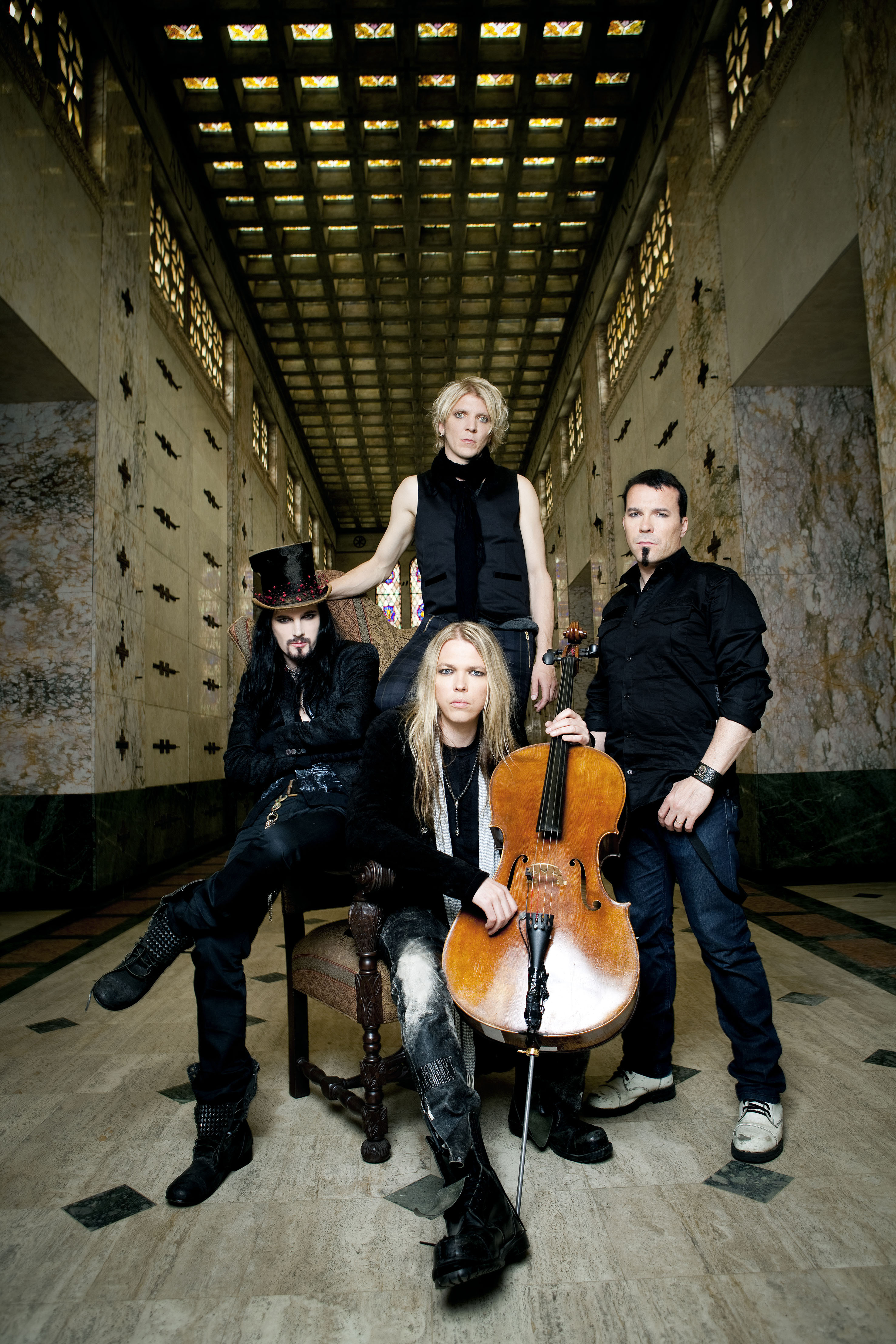 Apocalyptica: Recordando la historia de Plays Metallica by Four Cellos