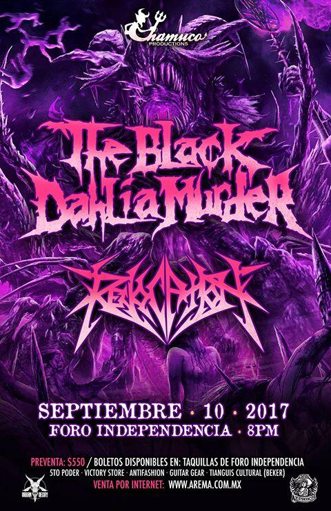 the black dahlia murder mexico