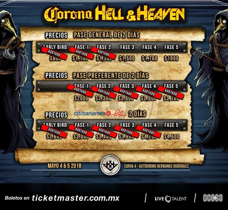 corona hell & heaven 2018