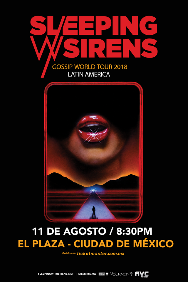 Sleeping With Sirens por tercera ocasión en México