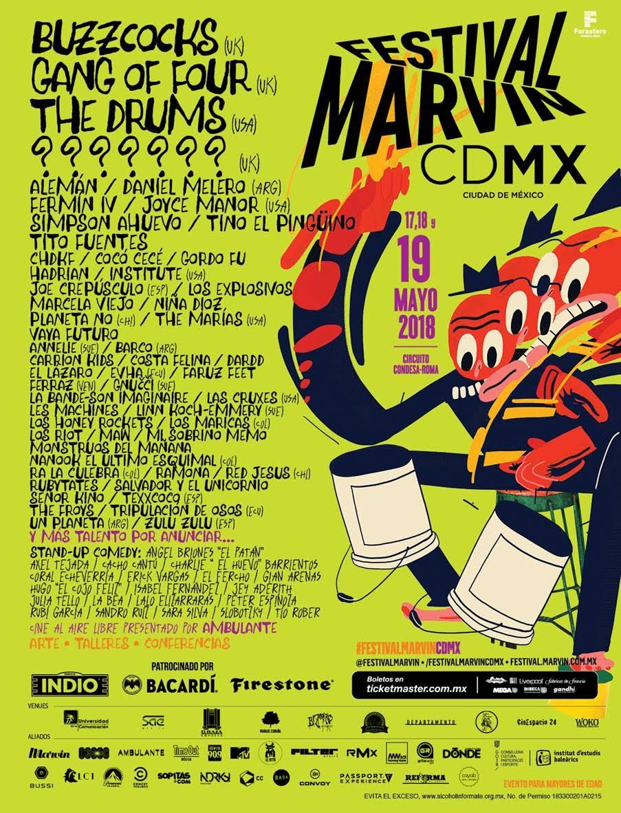 El talento mexicano inunda el Festival Marvin 2018