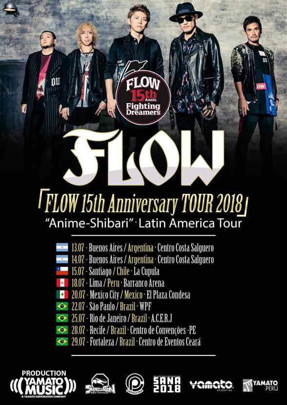 Flow, japoneses de visita en México