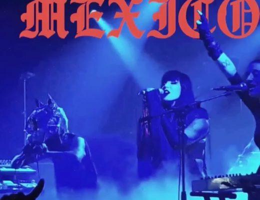 Kat Von D cancela su participación en los conciertos de IAMX en México
