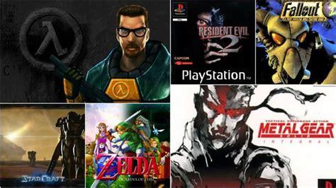 Top 10 videojuegos de Grita que cumplen 20 años este 2018