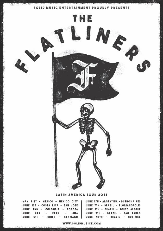 The Flatliners, punk rock canadiense en la CDMX