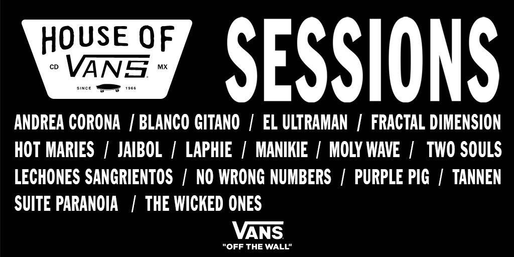 Vans anuncia a las 16 bandas semifinalistas de SESSIONS