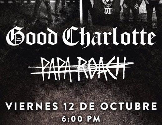 Good Charlotte y Papa Roach en la Ciudad de México