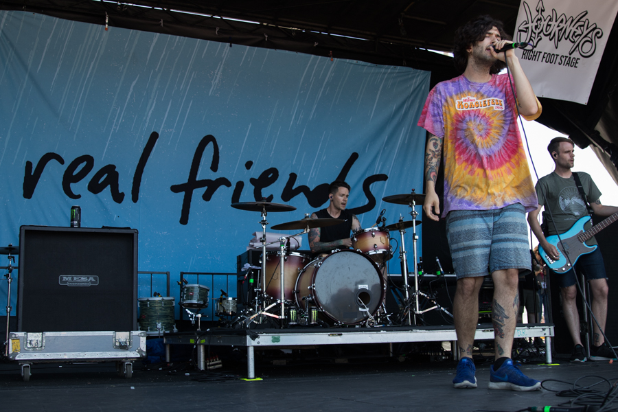 Real Friends Warped Tour San Diego