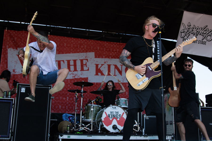 We The Kings Warped Tour San Diego