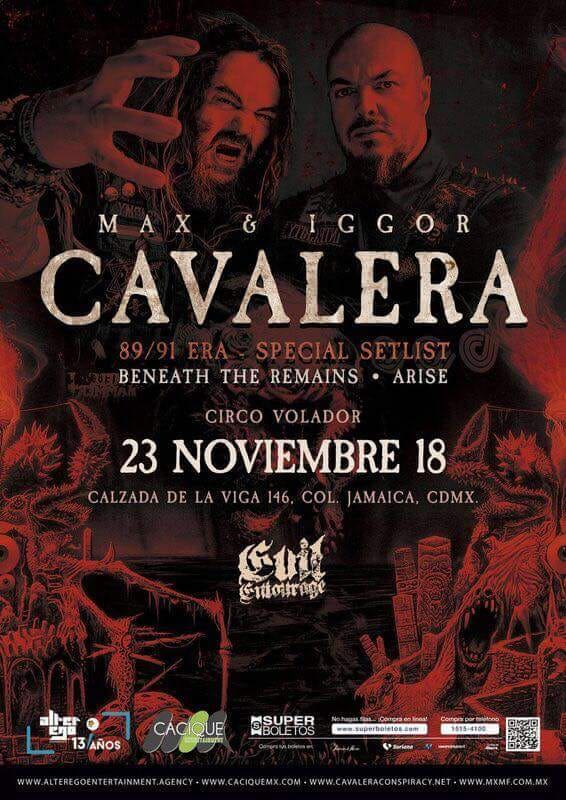 Cavalera Sepultura México