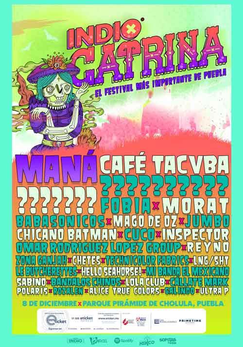 Festival Catrina: Weezer se presentará en Puebla