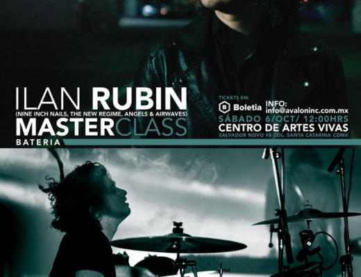 Ilan Rubin de Nine Inch Nails y músicos mexicanos se unen en Avalon Experts