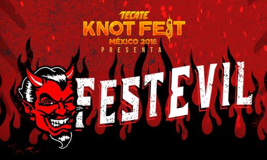 TECATE KNOTFEST 2018 PRESENTA EL FESTEVIL