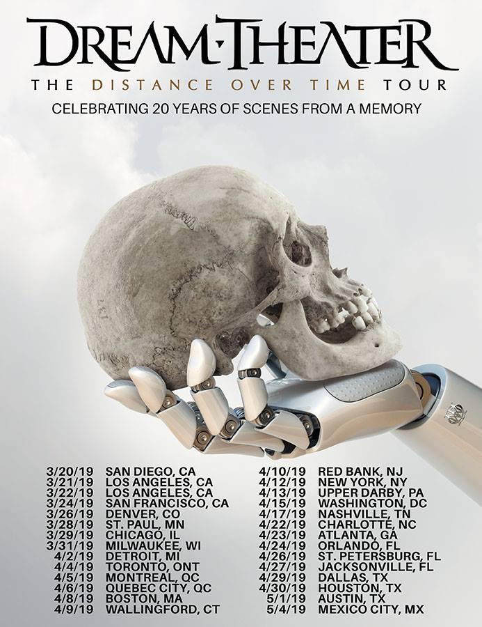 dream theater tour