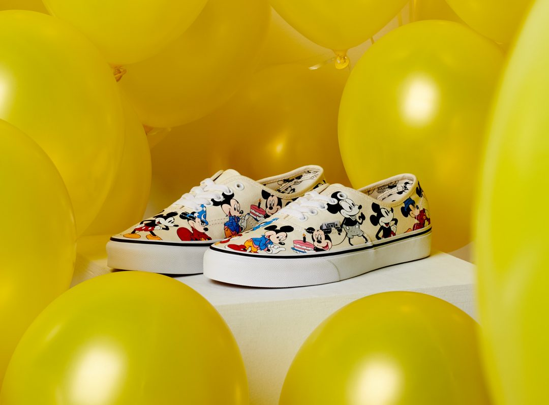 Vans celebra el 90 aniversario de Mickey Mouse, The True Original, nueva edición