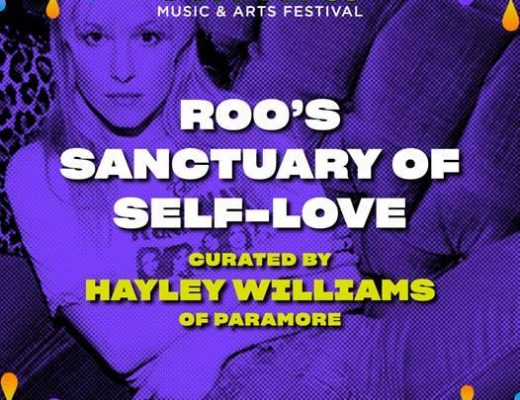 Hayley Williams, ausente de sus redes sociales pero activa en Bonnaroo y Good Dye Young