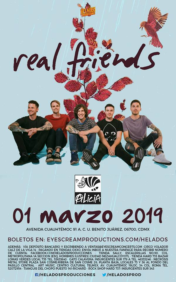 Real Friends: Su primera visita a México