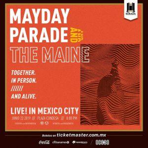 Mayday Parade y The Maine anuncian su visita a la CDMX