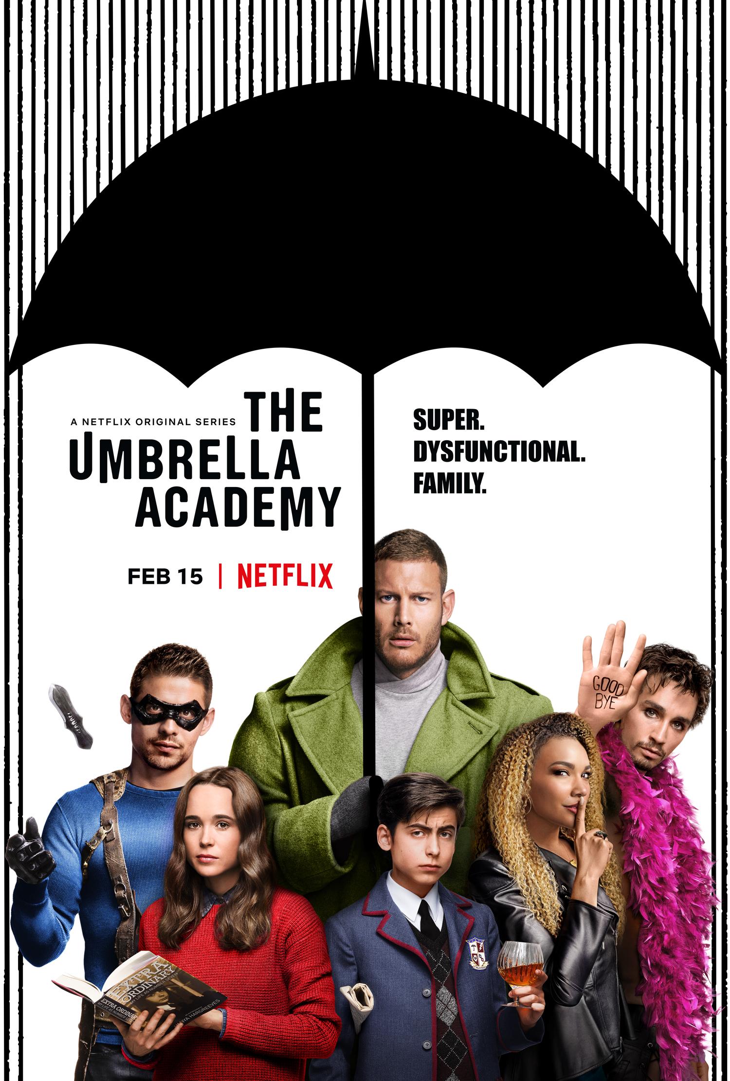 La familia disfuncional ya está aquí: Estreno The Umbrella Academy, 15 de febrero