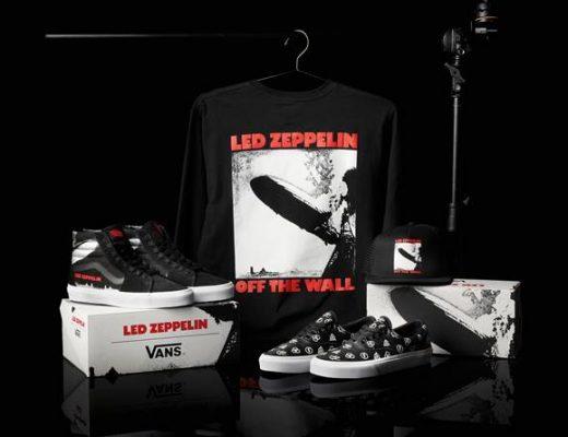 Vans conmemora el 50 aniversario del lanzamiento del album debut de Led Zeppelin