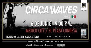 Circa Waves - Flyer