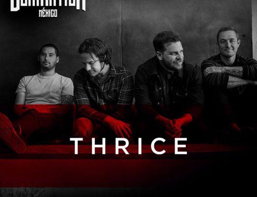 Rumbo al Domination: Entrevista Thrice y su primera vez en México