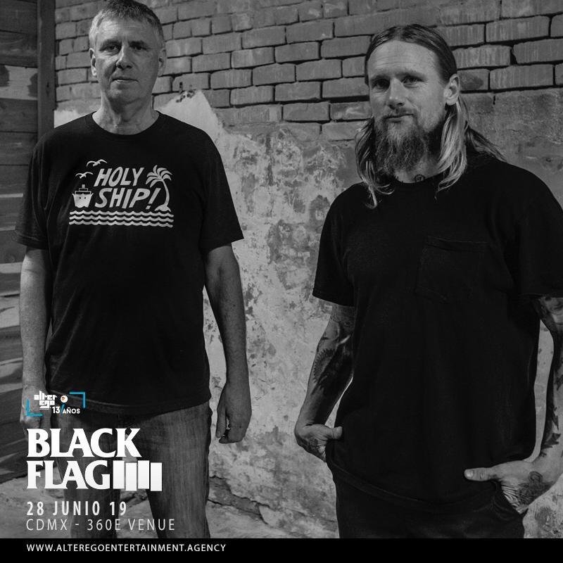 Entrevista Black Flag: Por primera vez en México