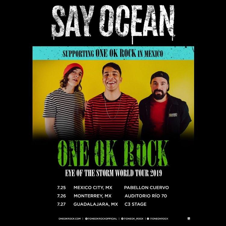 say ocean - one ok rock