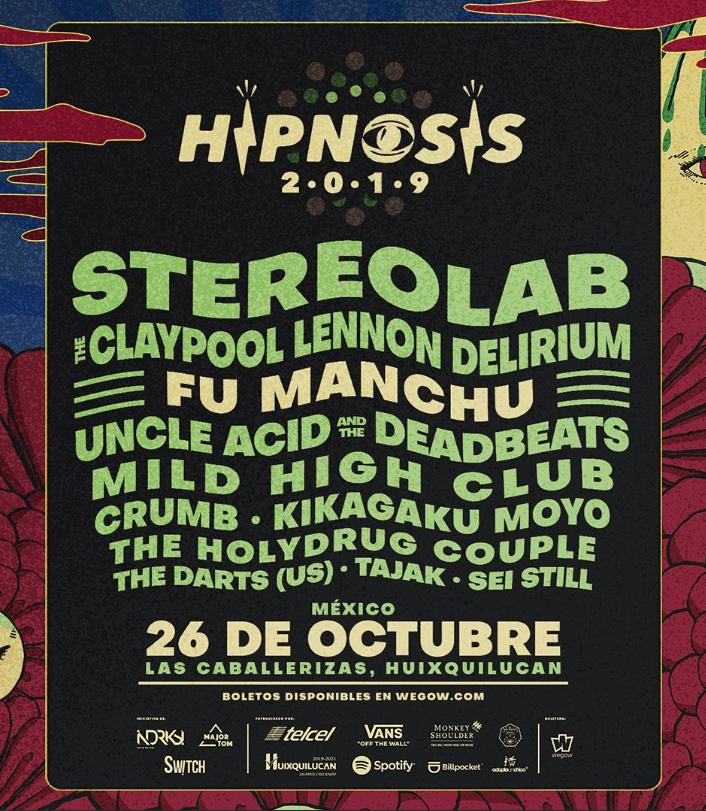 Hipnosis 19 - line up