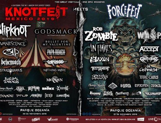 Knotfest Meets Force Fest: Sede, boletos y precios