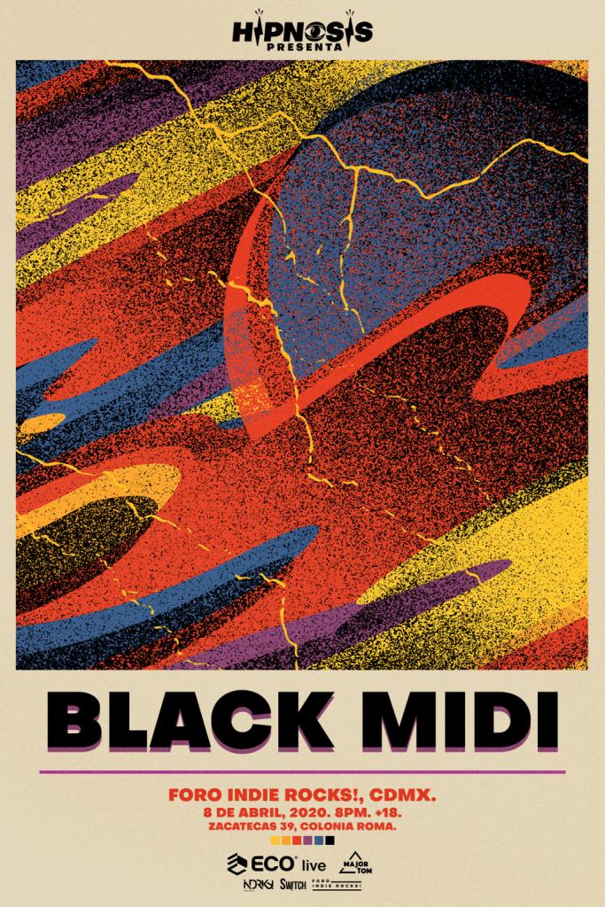 black midi - flyer