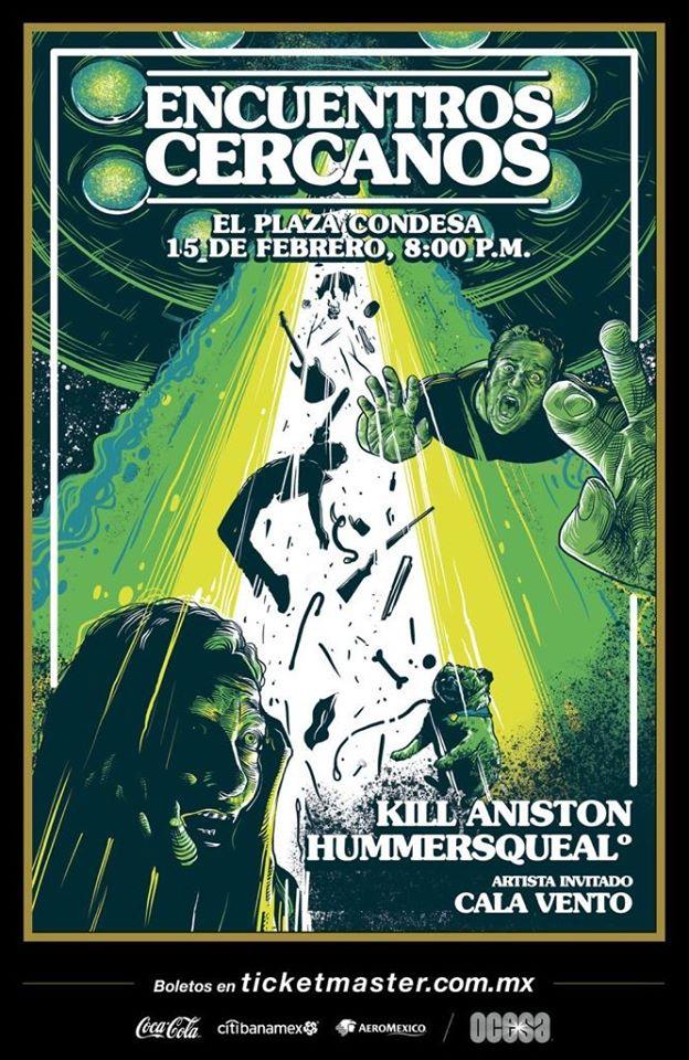 Hummersqueal y Kill Aniston: Un reencuentro de amigos en el Plaza Condesa