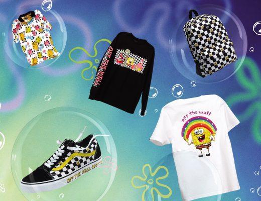 Bob Esponja colección de Vans y Nickelodeon :)
