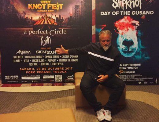Mañana es el estreno de The Day of the Gusano, de Slipnot y Clown comentó al respecto