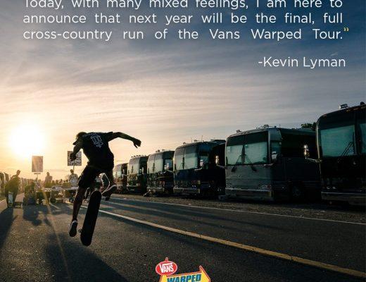 Adiós Vans Warped Tour: La edición del 2018 será la última