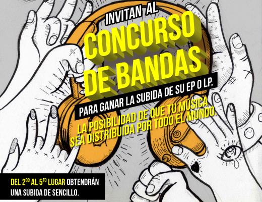 """Nación Grita y Cdbaby, ¡invitan al """"Concurso de Bandas""""!"""