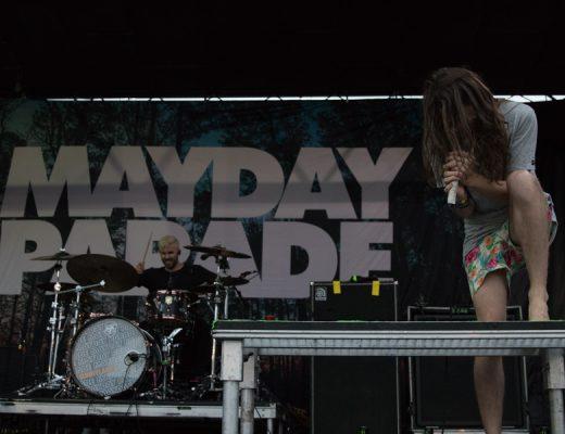 Mayday Parade Warped Tour San Diego