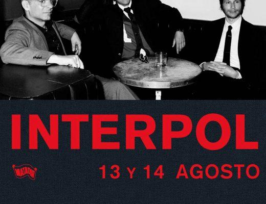 Interpol de vuelta en la Ciudad de México