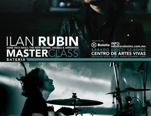 Ilan Rubin de Nine Inch Nails y músicos mexicanos se unen en Avalon Experts