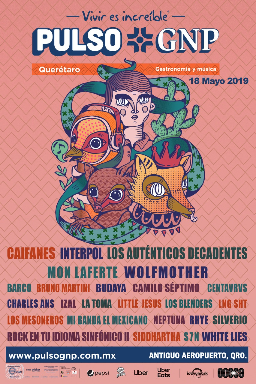 Festival Pulso GNP 2019: Interpol, Wolfmother, White Lies y más