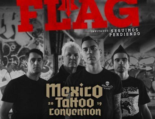 Anti Flag se presentará en la México Tatto Convention