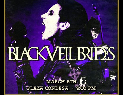 Black Veil Brides en el Plaza Condesa
