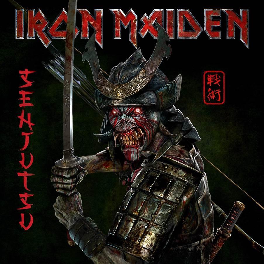 Senjutsu de Iron Maiden y Eddie Samurai